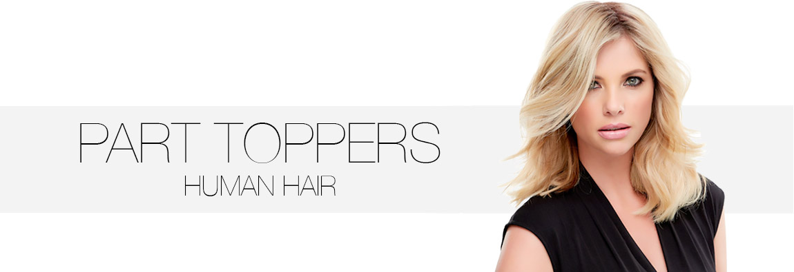 easiPart Human Hair Toppers
